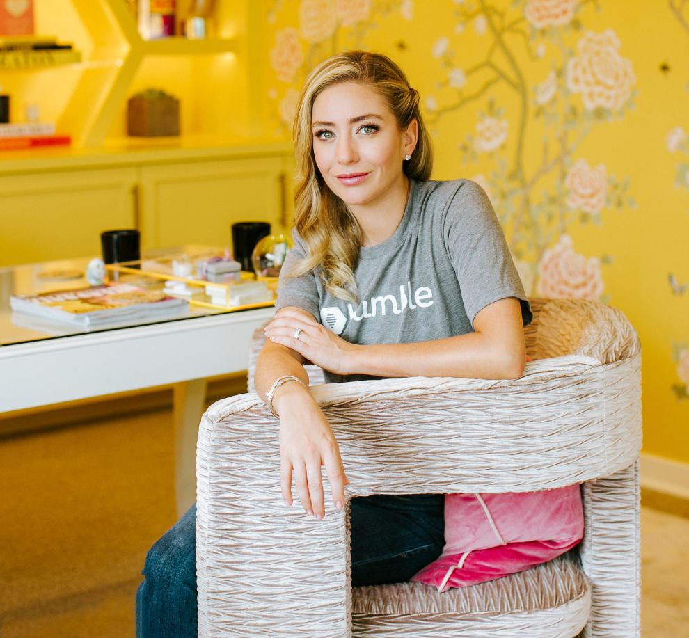 Whitney Wolfe, CEO de Bumble, la primera app de dating feminista