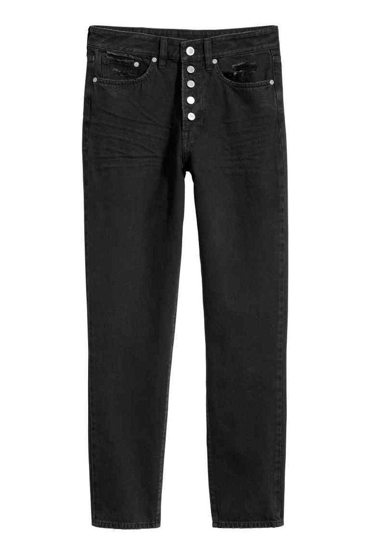 Pantalón recto negro de H&M (29,99 euros)