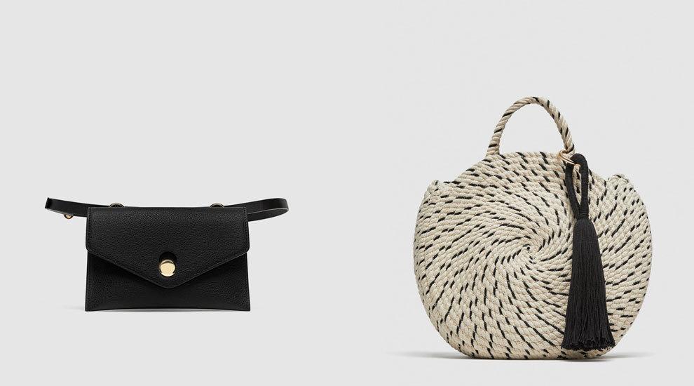 Riñonera versus la cesta que propone Zara.