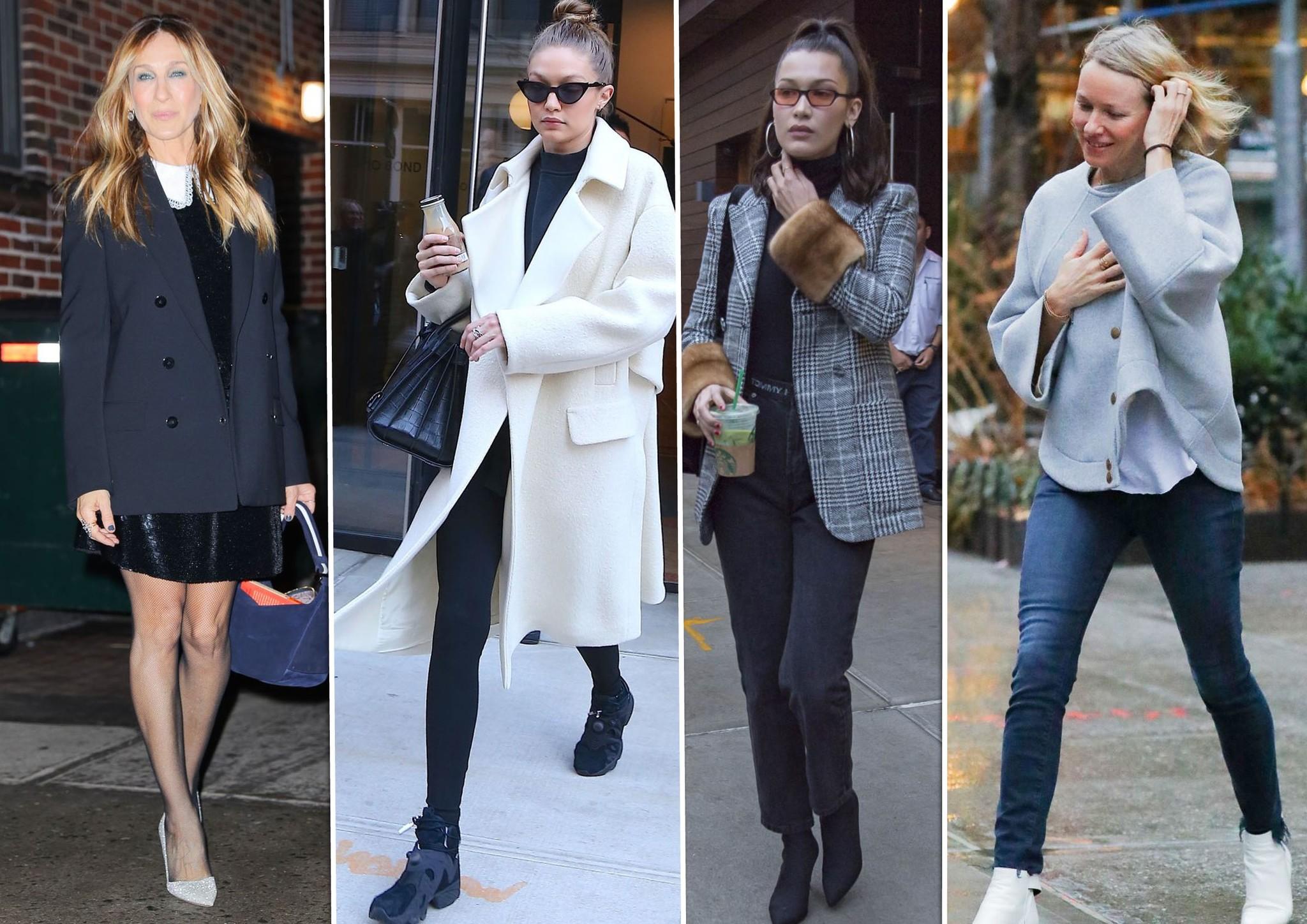 La semana en looks: Sarah Jessica, Gigi Hadid, Bella Hadid y Naomi...