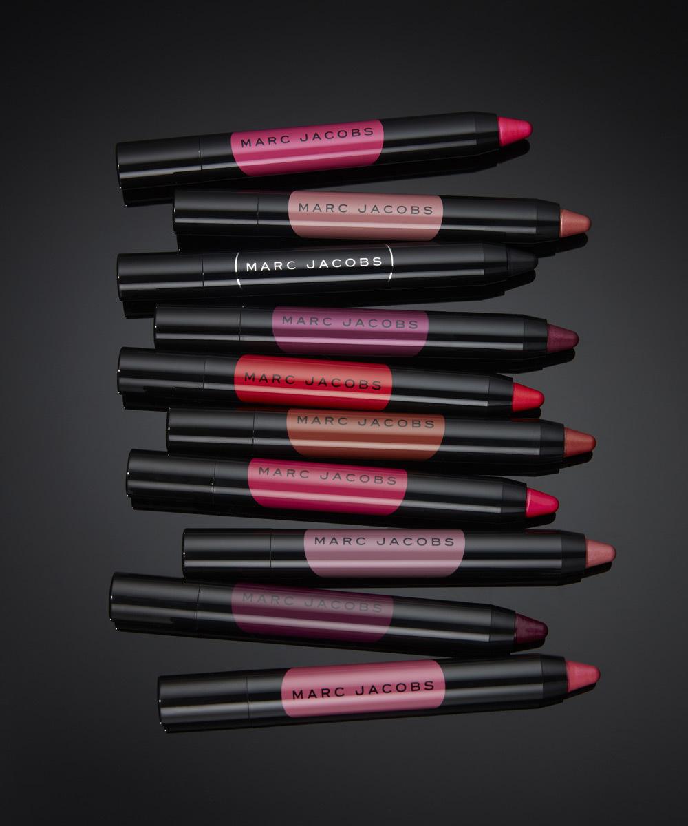 Colección de los nuevos labiales Le Marc Liquid Lip Crayon, de Marc...