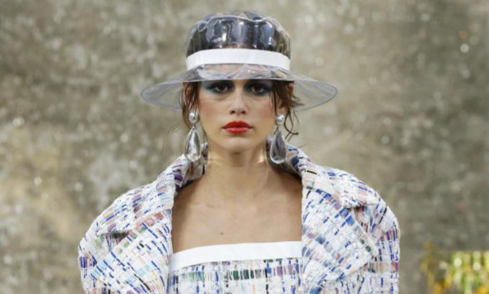 Kaia Gerber, en el último desfile de Chanel.