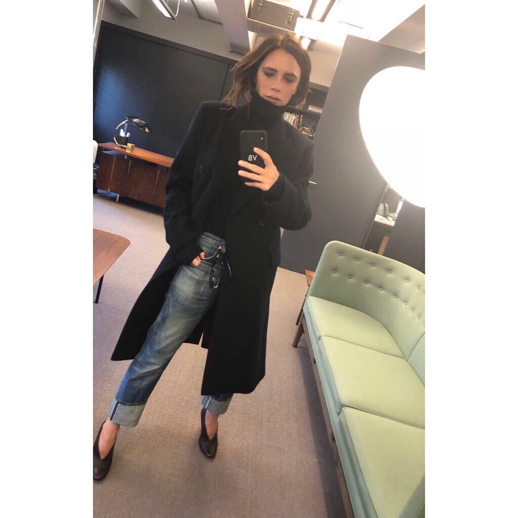 Victoria Beckham en su Instagram.