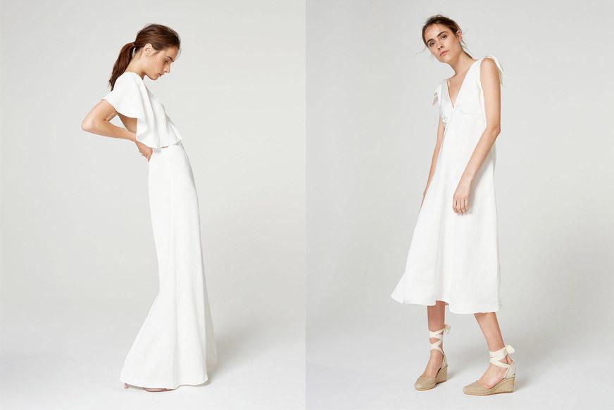 Un mono y un vestido para las amantes de los diseños minimal