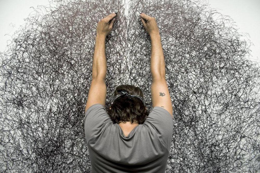 Tony Orrico, en Marso Galería.