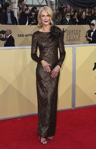 La actriz australiana, galardonada como Mejor Actriz por su papel en...