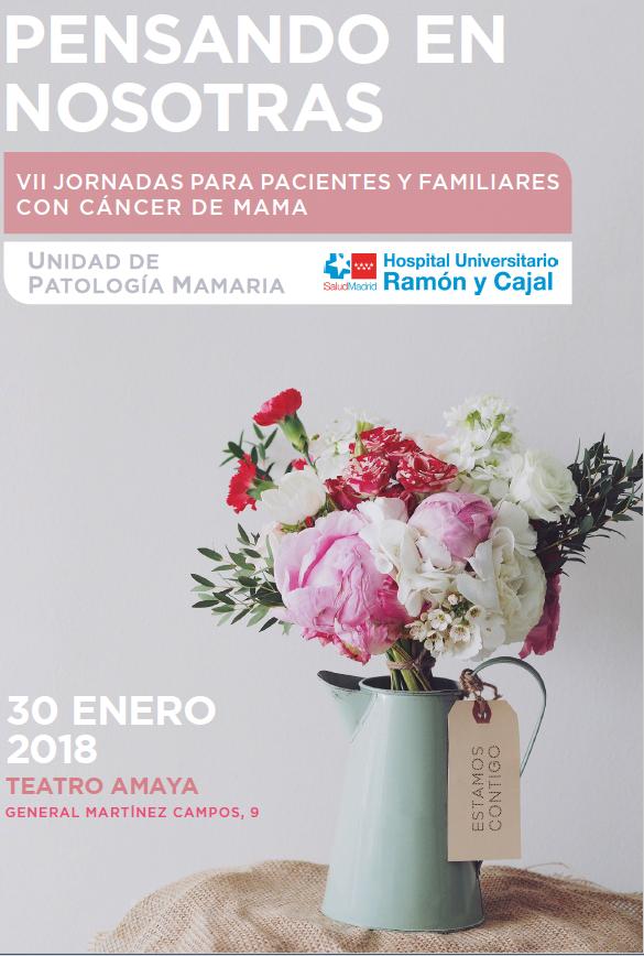 VII Jornadas para pacientes y familiares con cáncer de mama.