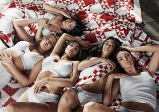 Las hermanas Kardashian-Jenner como nueva imagen de Calvin Klein.