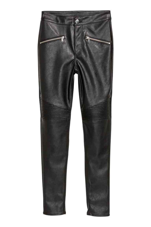 Pantalón motero de H&M (24,99 euros)