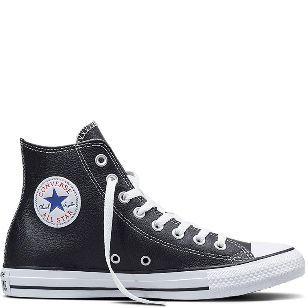 Converse Chuck Taylor All Star de piel (90 euros)