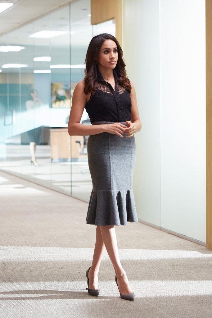 El pesonaje de Meghan Markle en Suits.