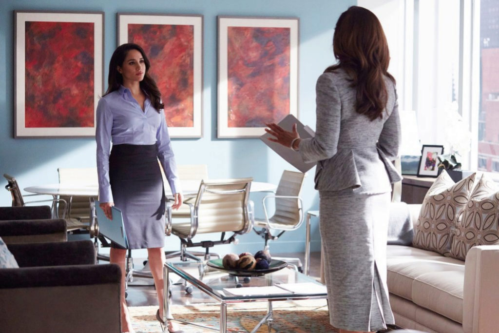 Meghan MArkle en la serie Suits