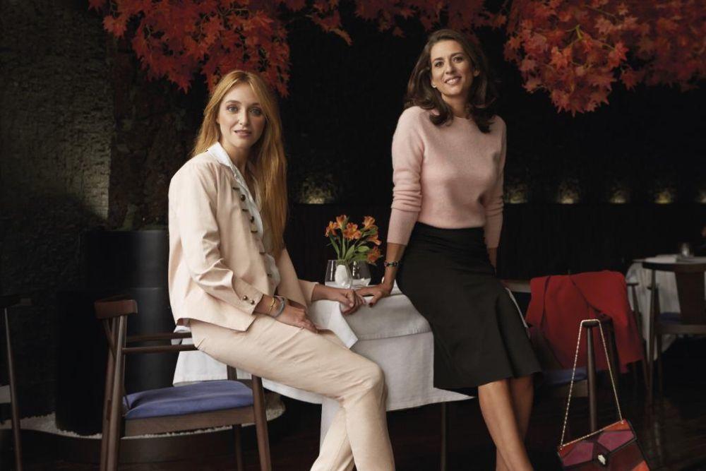 Rosana Olivier y Miriam Moral.