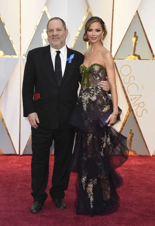 Harvey Weinstein y su ex mujer, Georgina Chapman