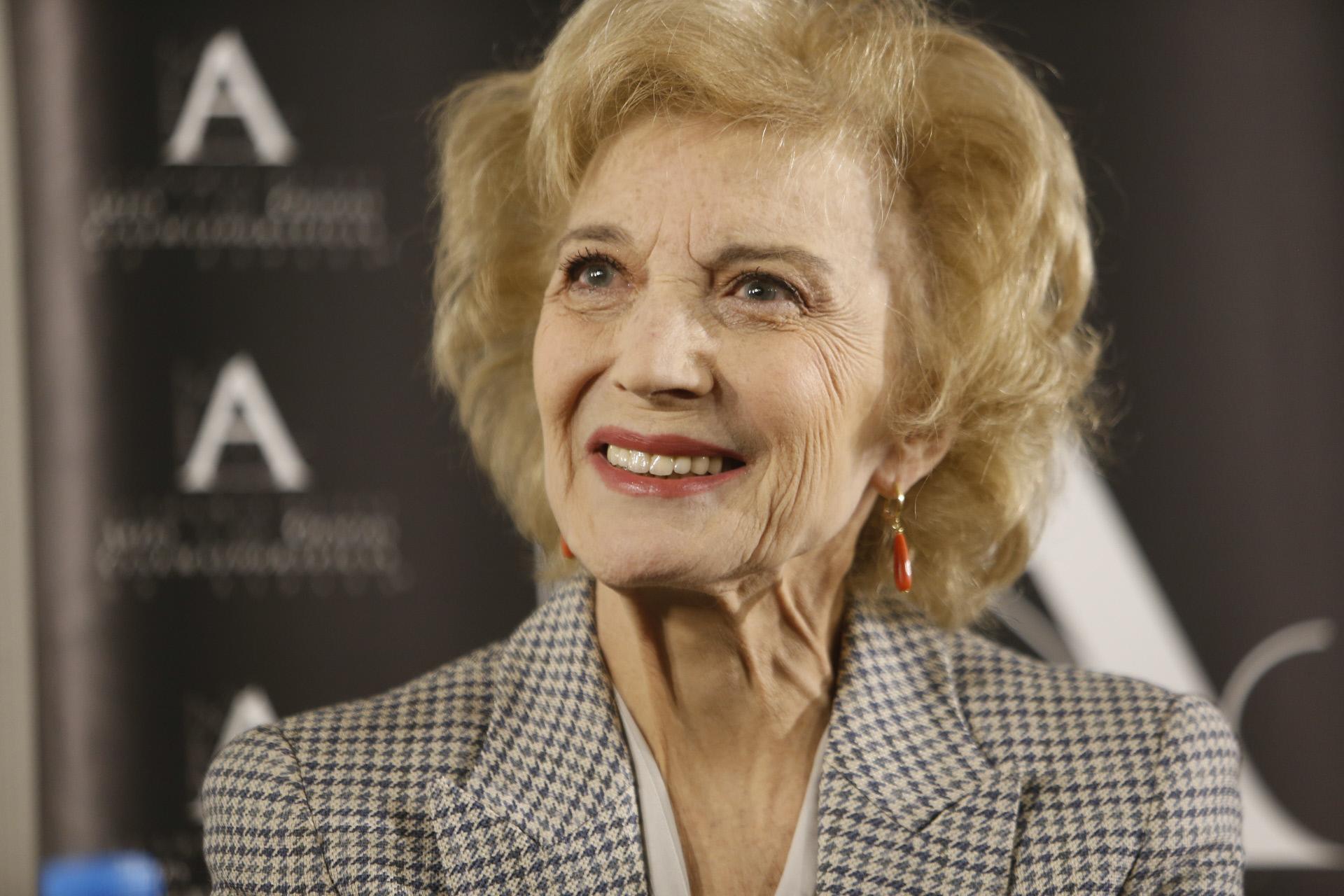 Marisa Paredes recibirá el Goya de Honor.