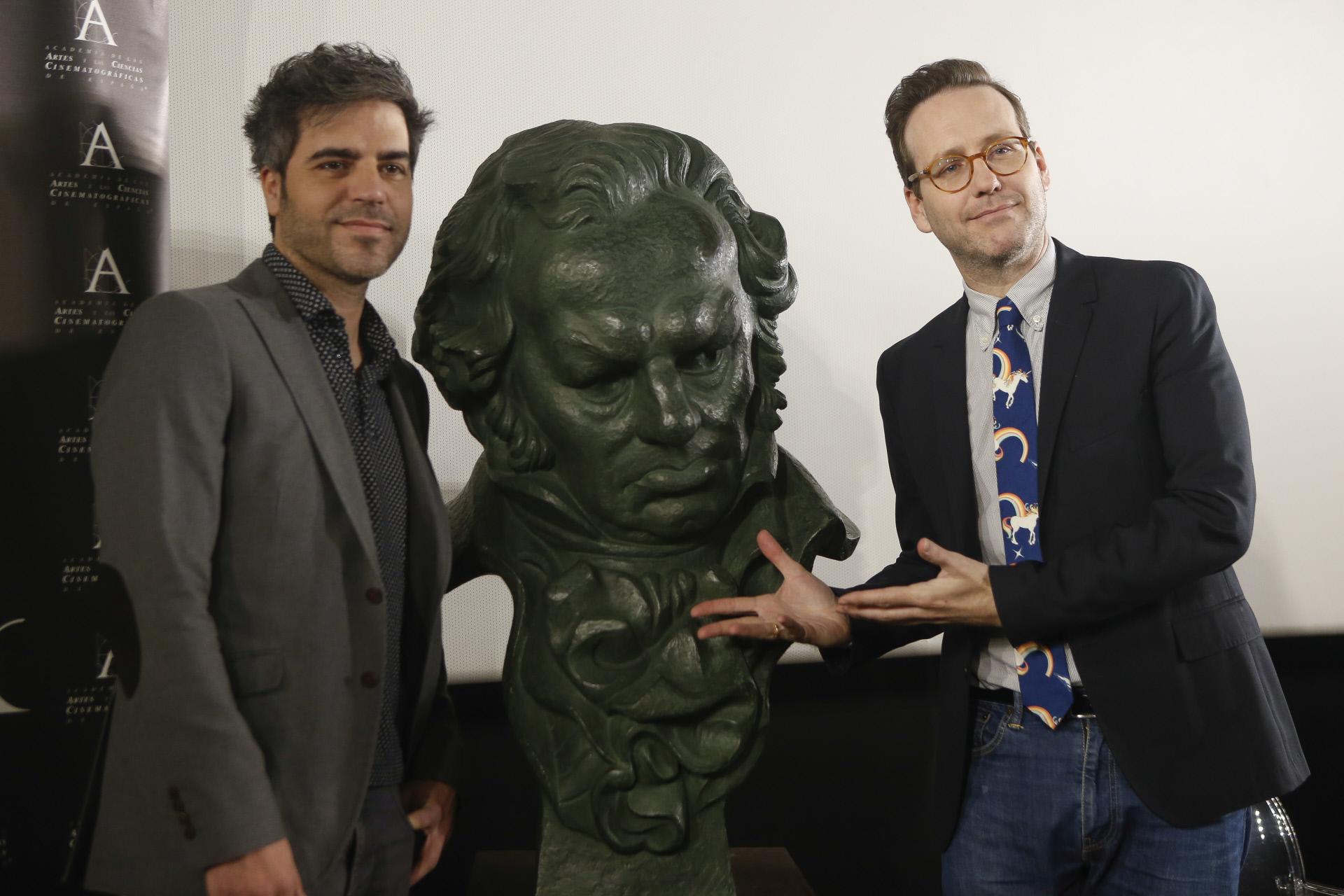 Ernesto Sevilla y Joaquín Reyes serán los presentadores de los Goya...