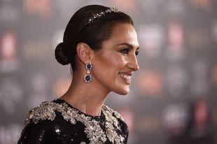 Haciendo gala de su estilo habitual, Nieves Álvarez triunfó en la...