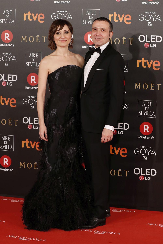 La ganadora del Goya 2018 a la mejor actriz, con un diseño de Ana...
