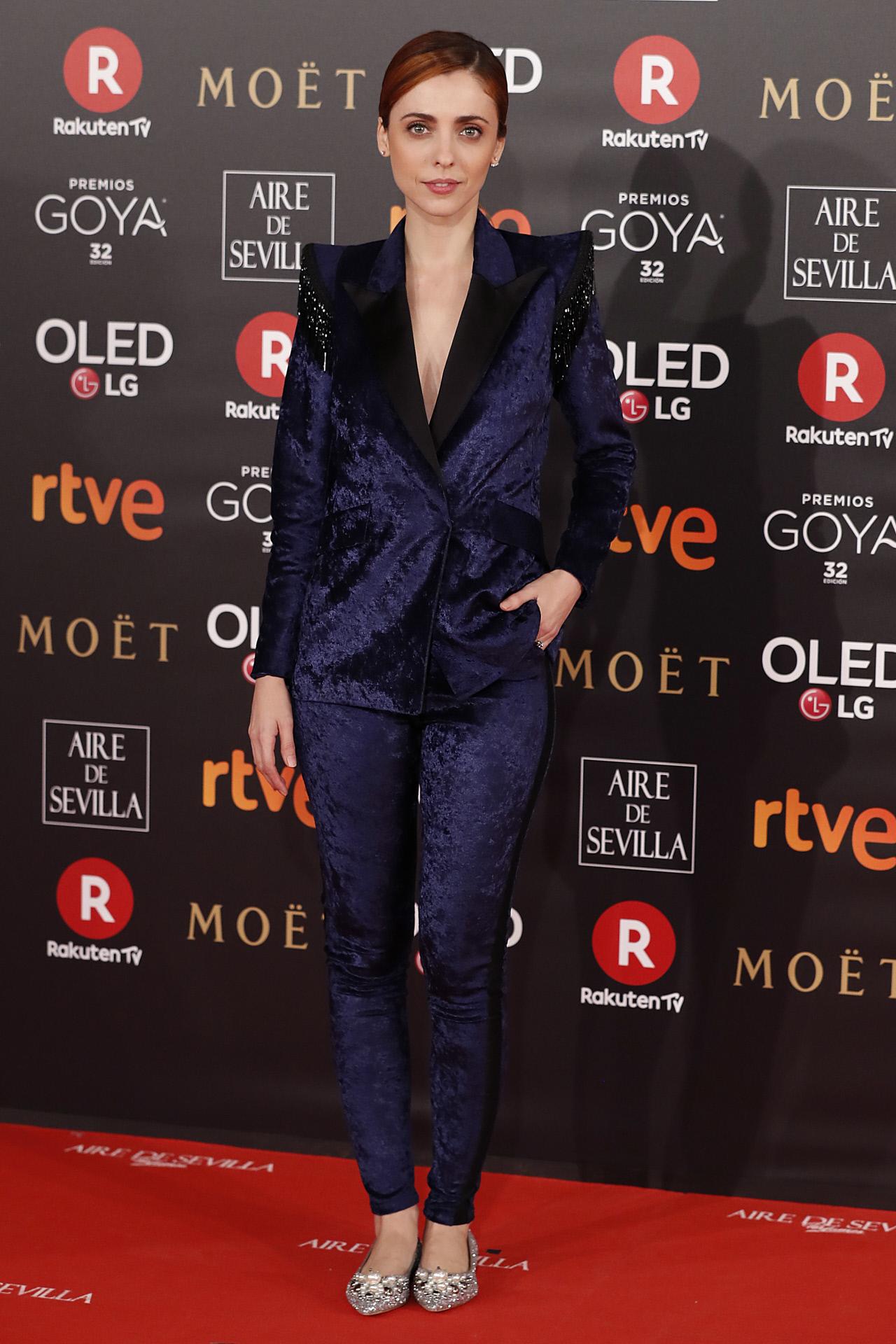 Leticia Dolera en los Premios Goya 2018.