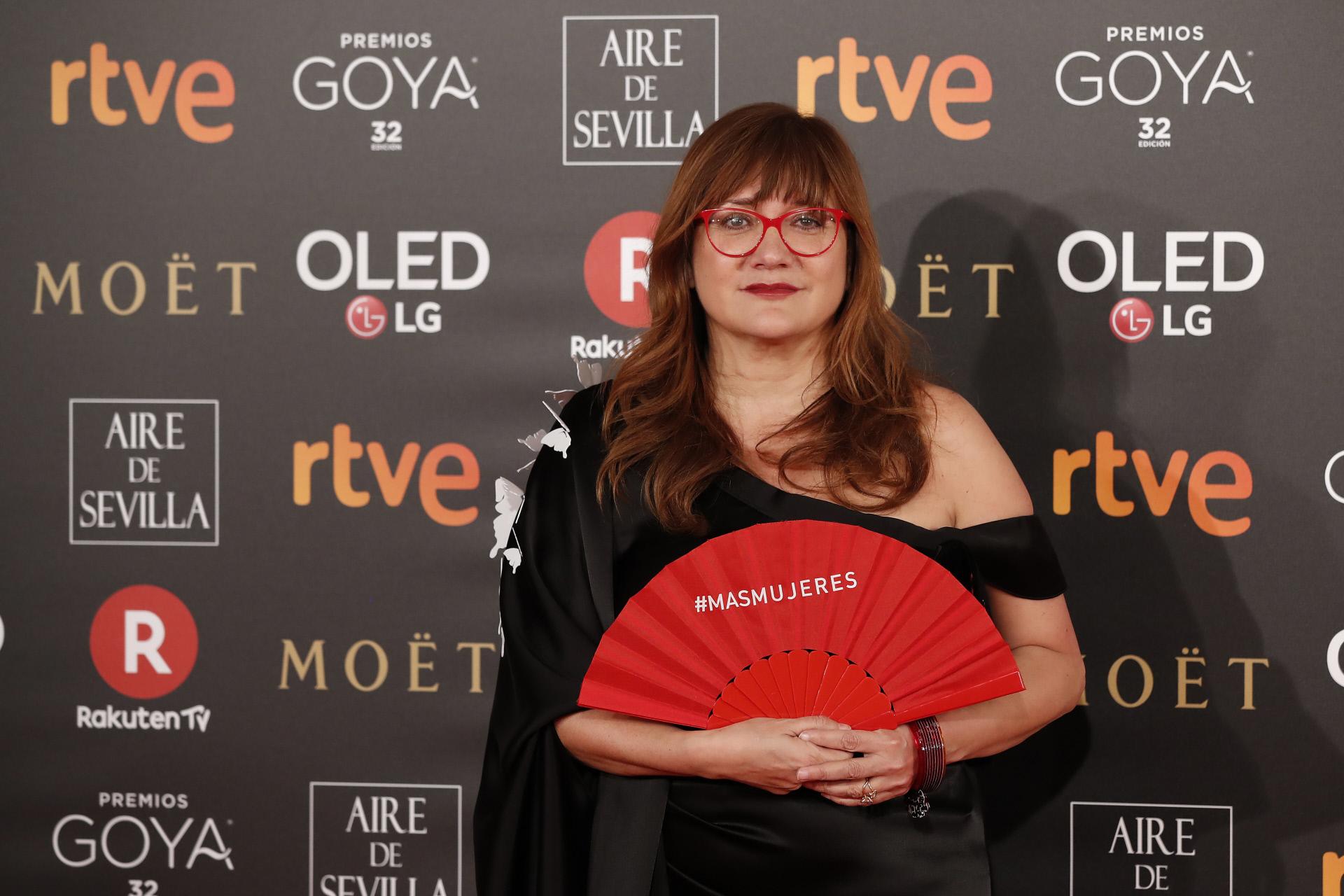 Isabel Coixet con el abanico de #+MUJERES