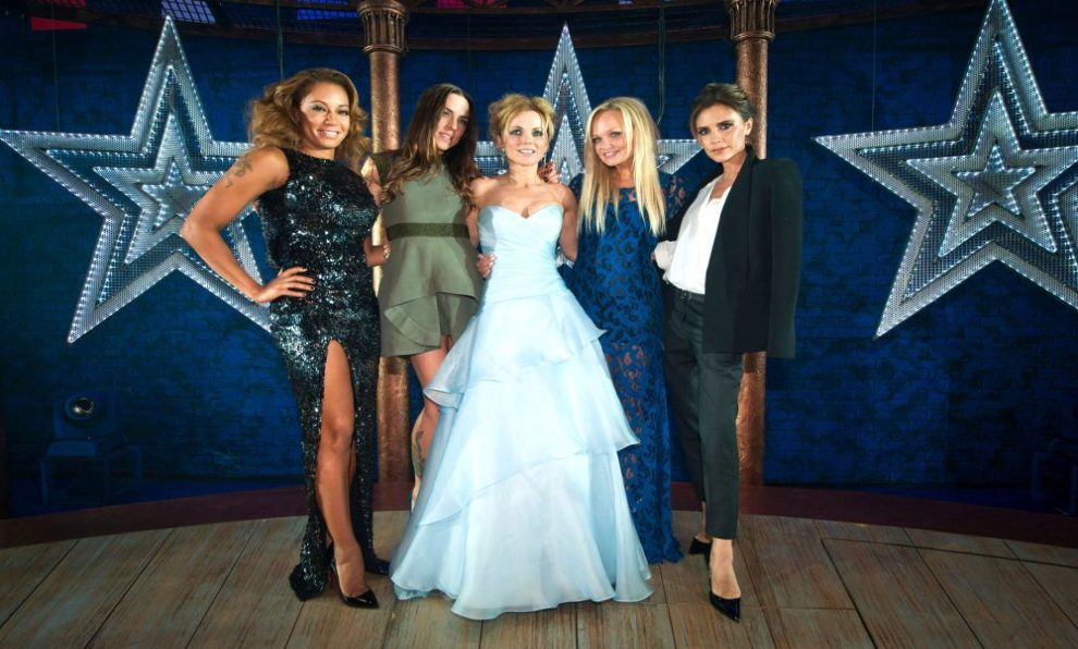 "La ""Girl band"" de los 90', las Spice Girls."