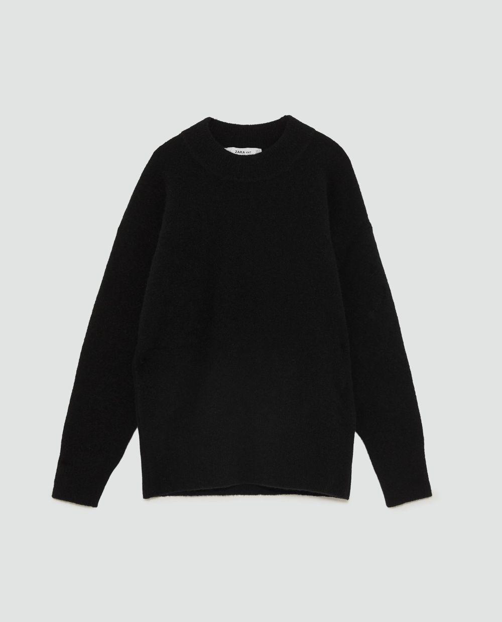 Jersey de lana de Zara (45,95 euros)