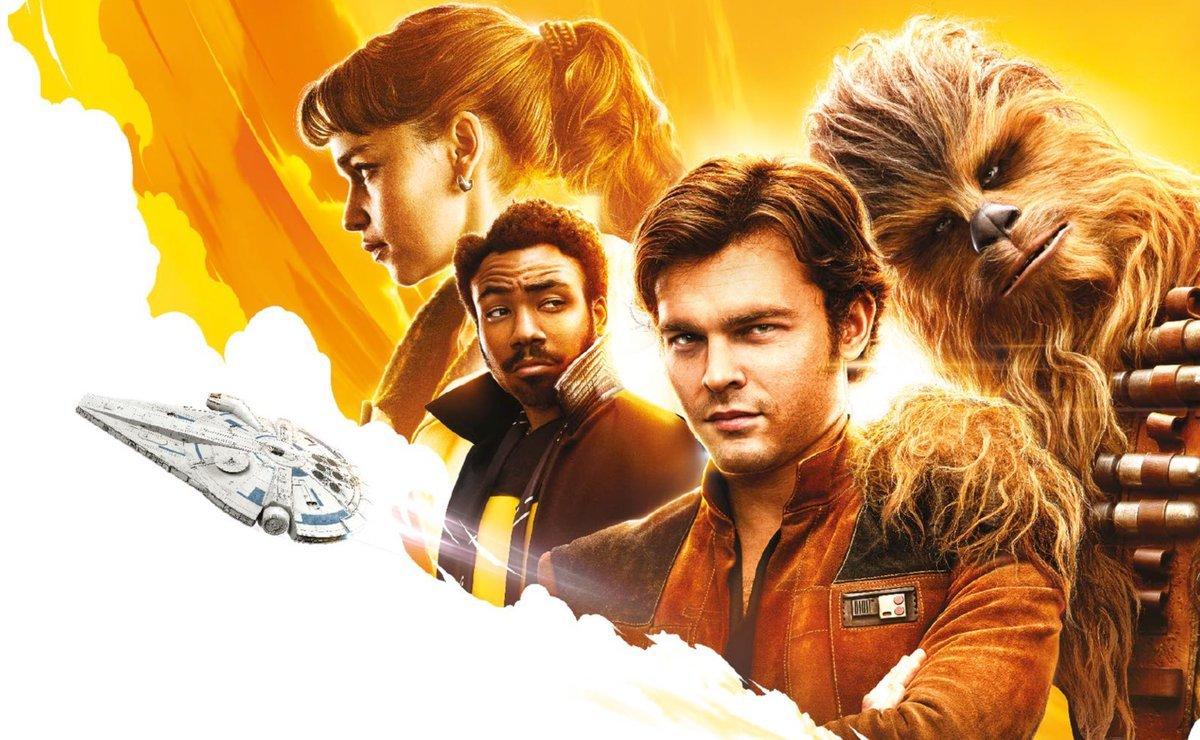 """Cartel de """"Han Solo: una historia de Star Wars"""""""