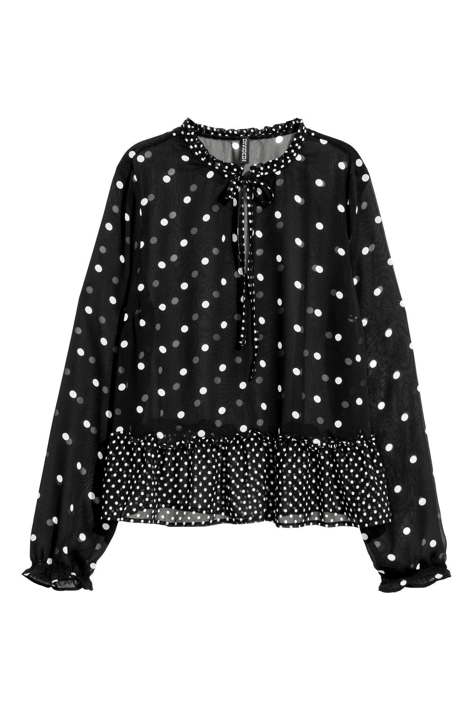 Blusa de gasa de H&M (19,99 euros).