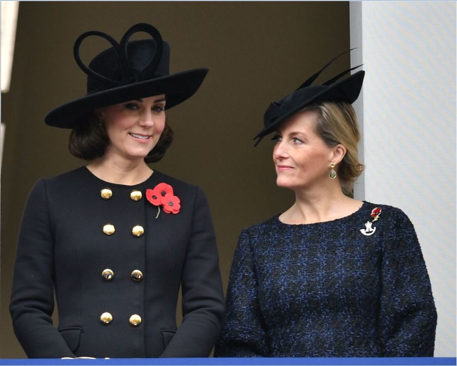 Kate Middleton y la Duquesa de Wessex