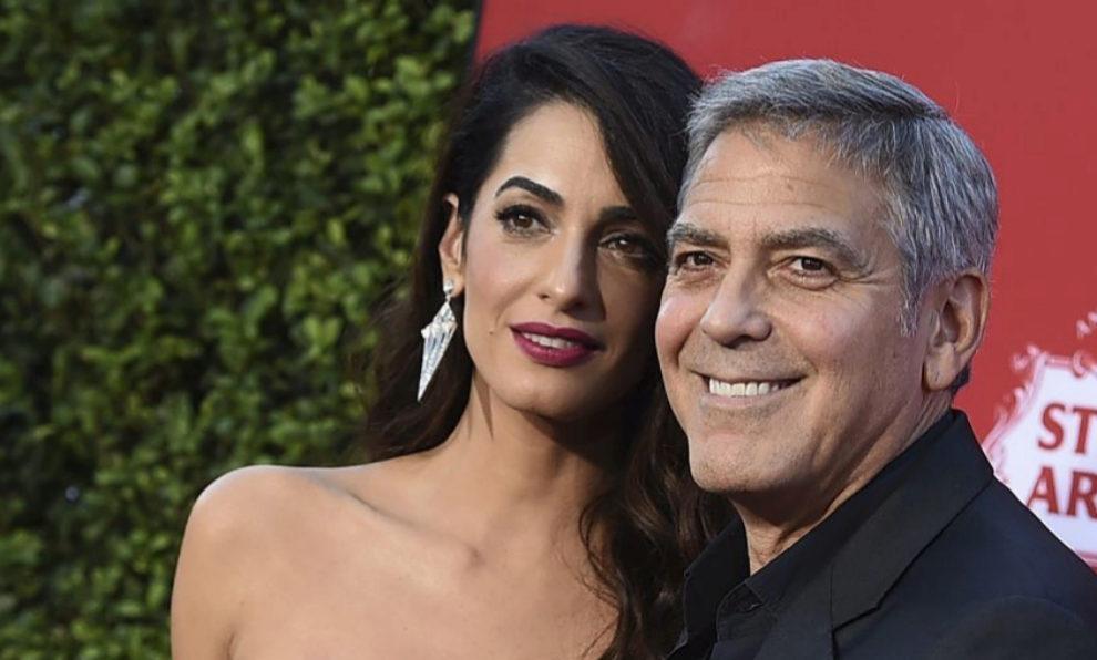El matrimonio Clooney.