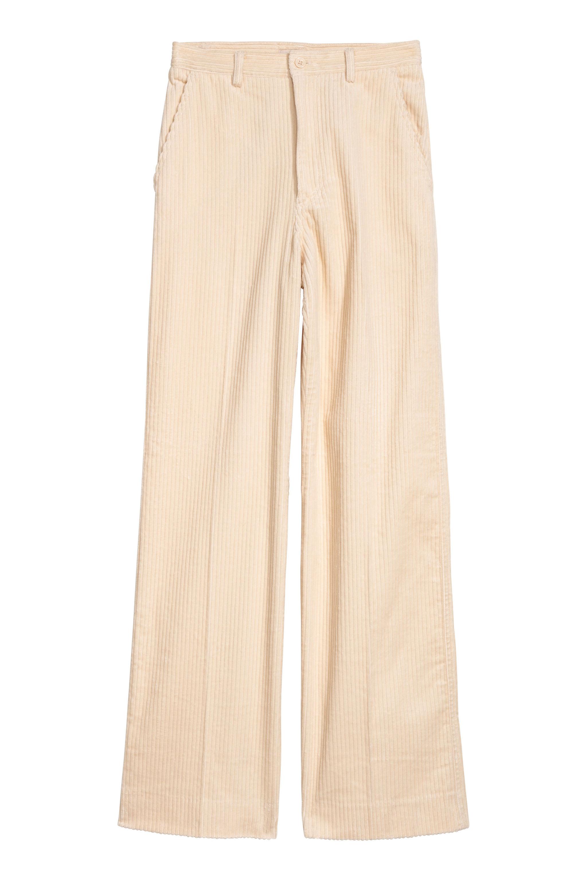 Pantalón de pana de H&M (49,99 euros)