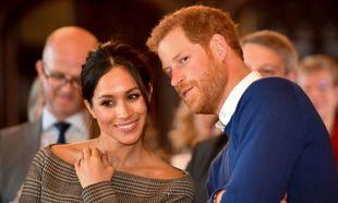 El príncipe Harry junto a Meghan Markle.