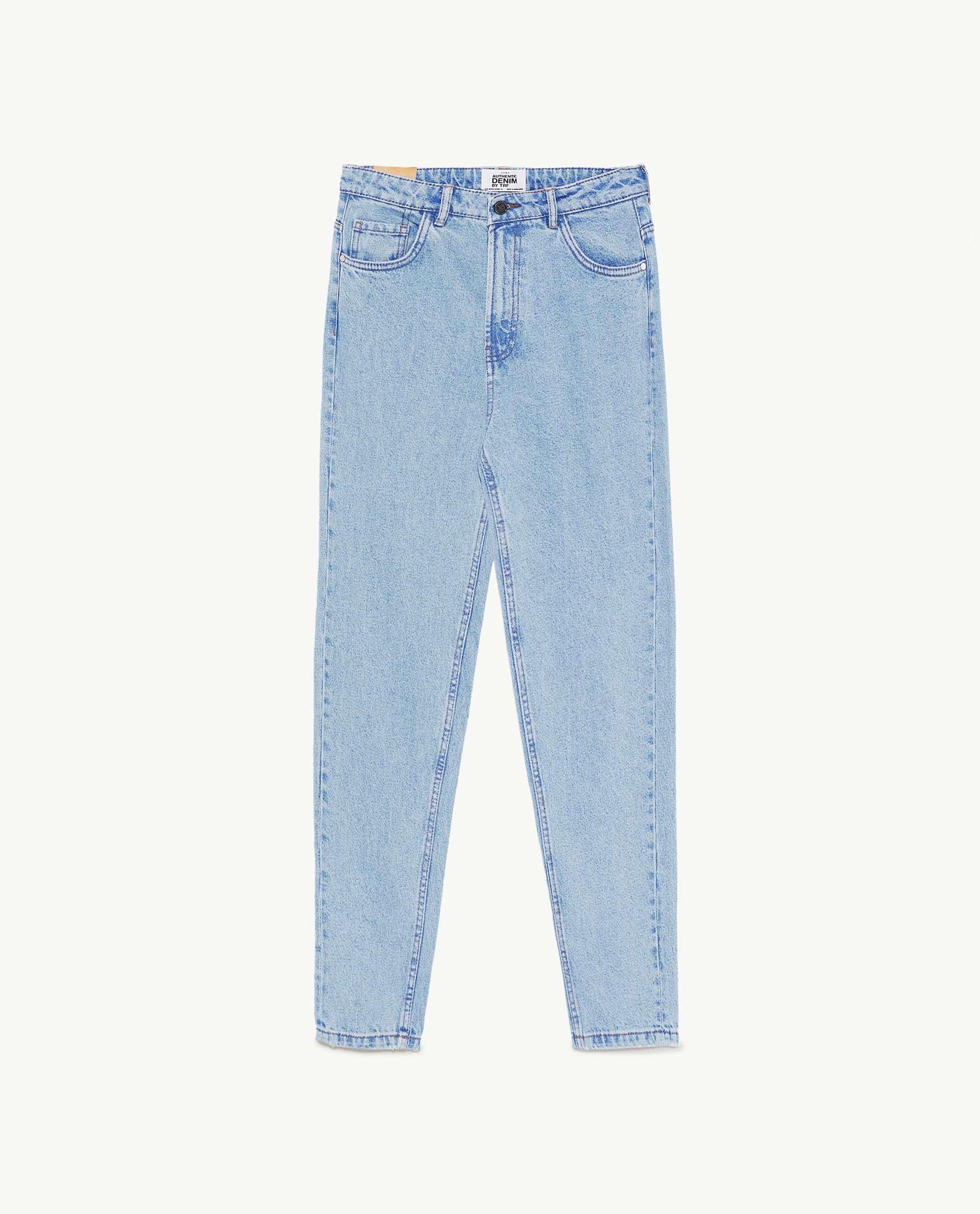 Jeans mom de Zara (25,95 euros)