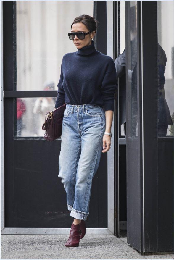 Victoria Beckham es el look del día