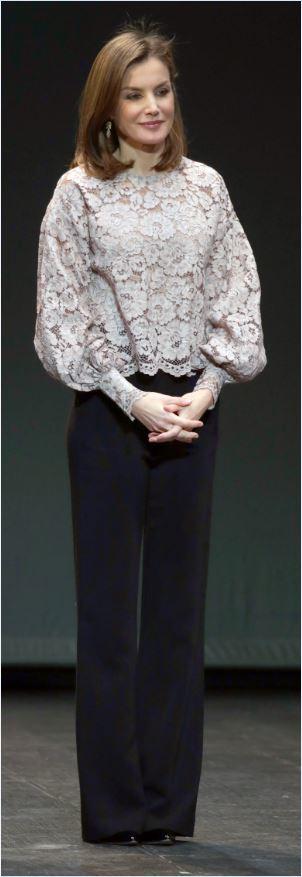 El look de la Reina Leticia en los Premios Nacionales de Innovación y...
