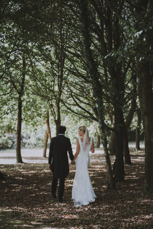 De todas las fotos de la boda se encargaron los profesionales de Noire...