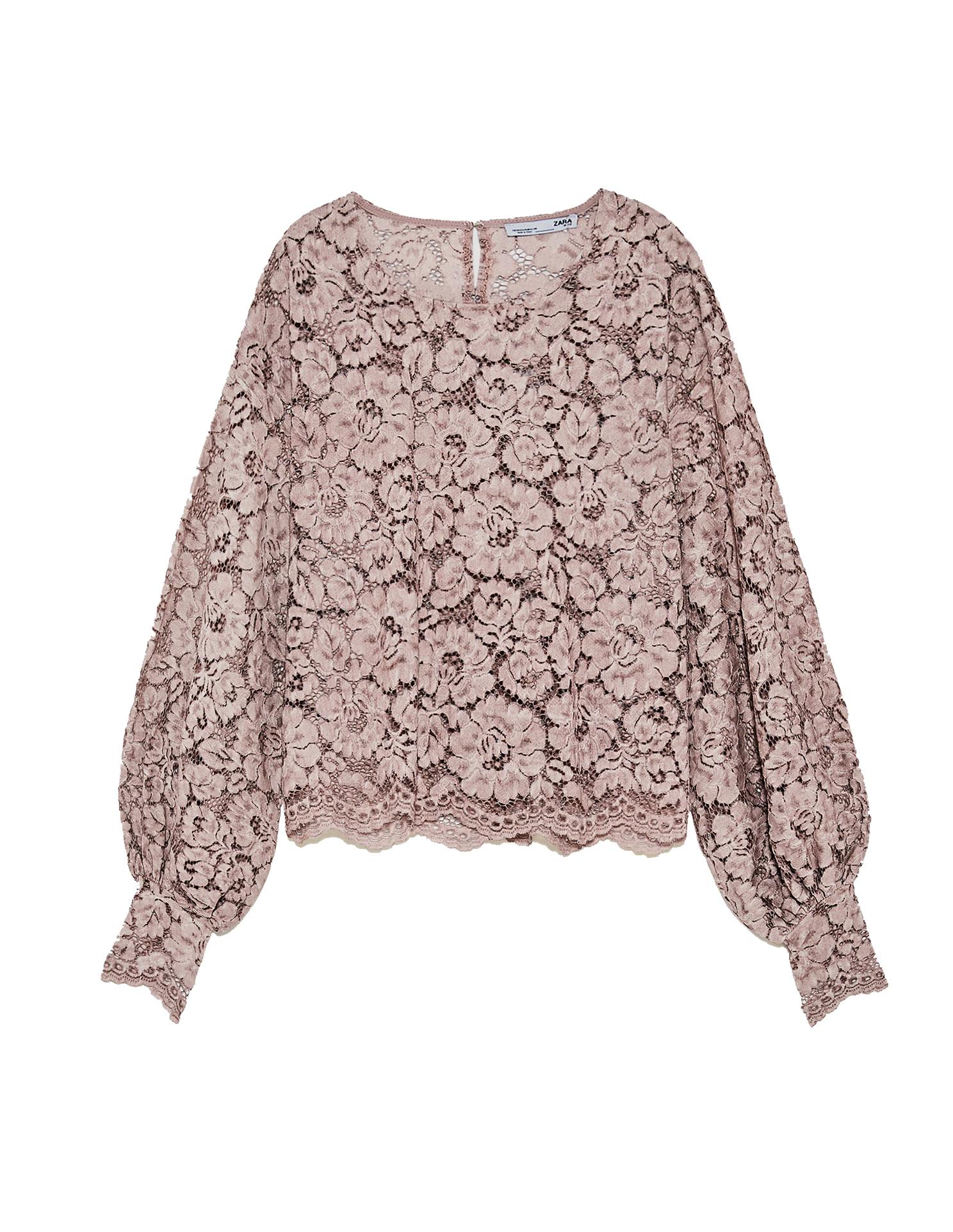 La blusa de Zara de la reina Letizia.