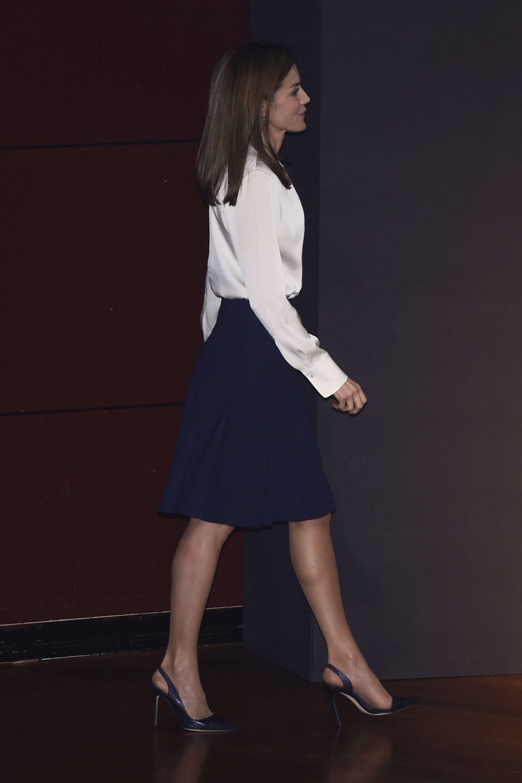 Los secretos de las definidas piernas de la Reina Letizia al...