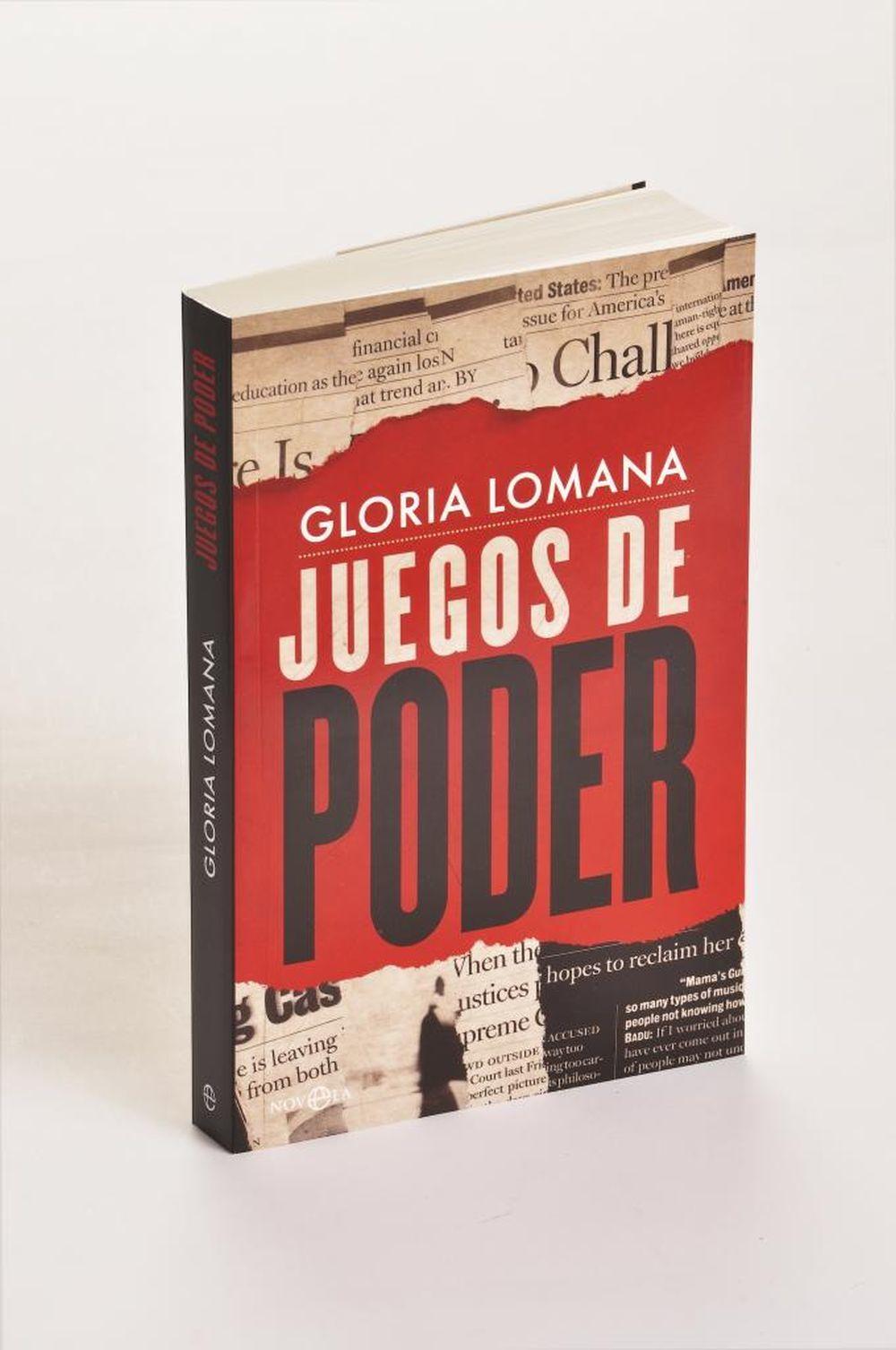 En su primera novela,  la periodista Gloria Lomana nos atrapa con una...