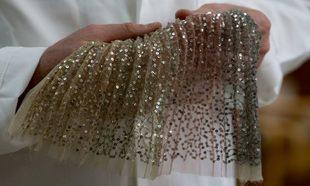 """Detalle del vestido """"Songe"""" de la colección Alta Costura S/S 2018 de..."""
