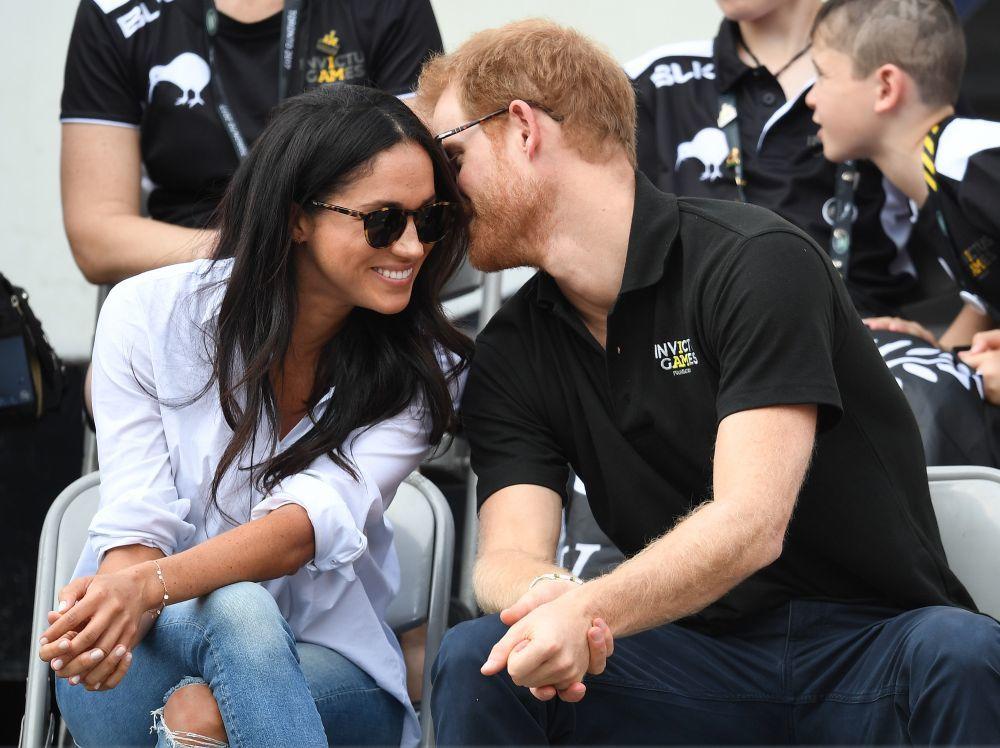 Meghan y el príncipe Harry durante los Juegos Invictus de, una de las...