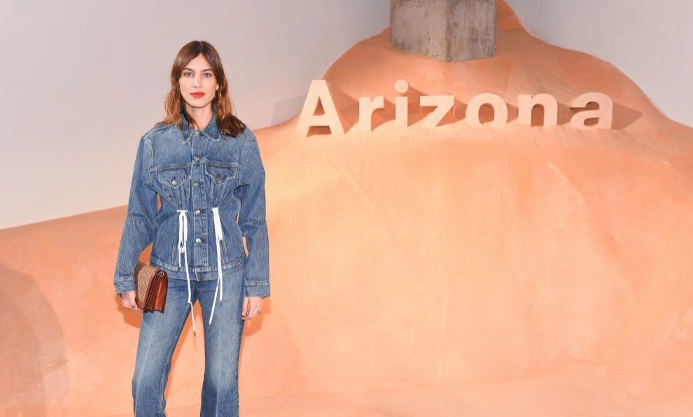 """Alexa Chung durante la presentación del perfume """"Arizona"""" en la New..."""