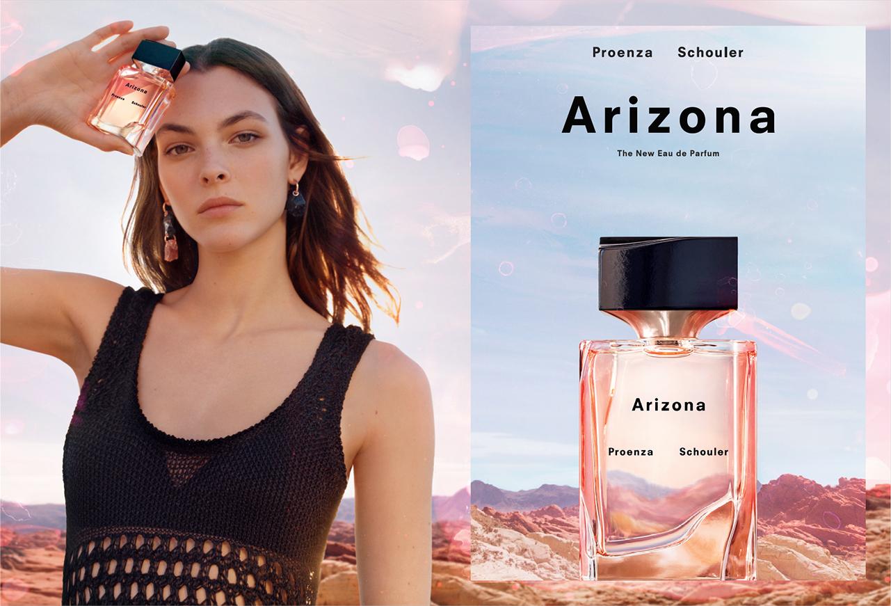 """Campaña de """"Arizona"""", la primera fragancia de  Proenza Schouler"""