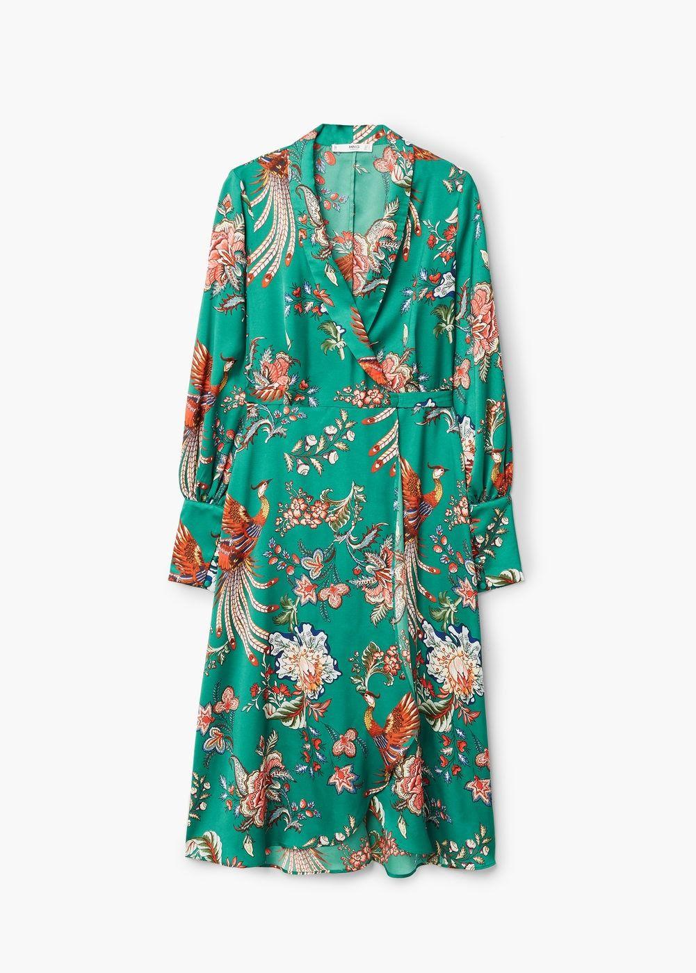 Vestido de Mango (39,99 euros).