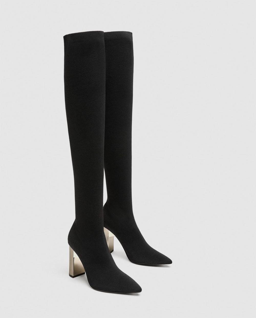 Botas altas de Zara (59,95 euros)
