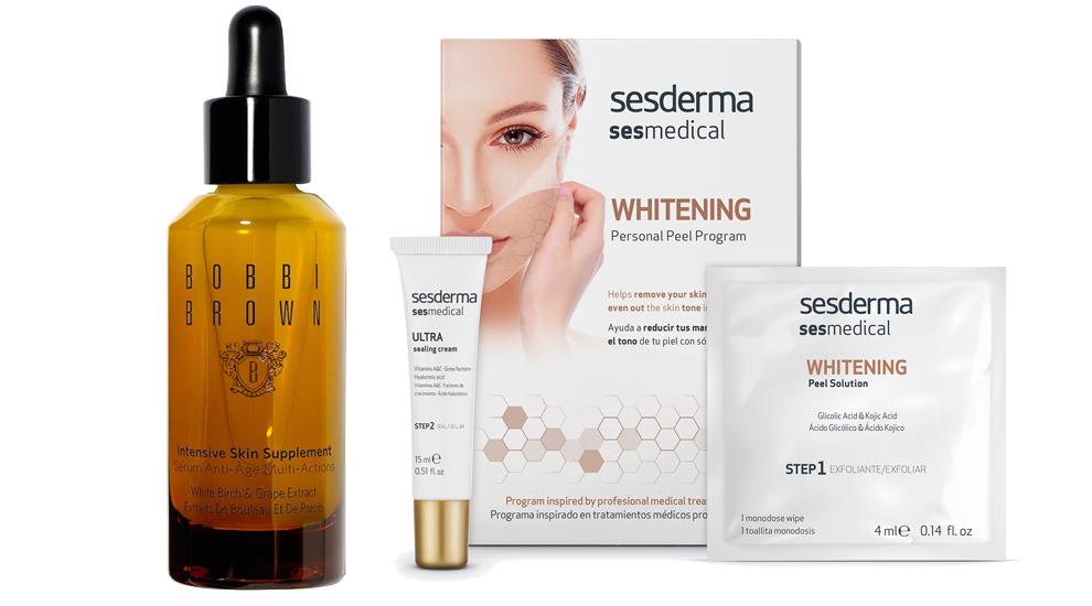 Intensive Skin Supplement, Bobbi Brown (C.P.V) ;  Sesmedical Whitening...