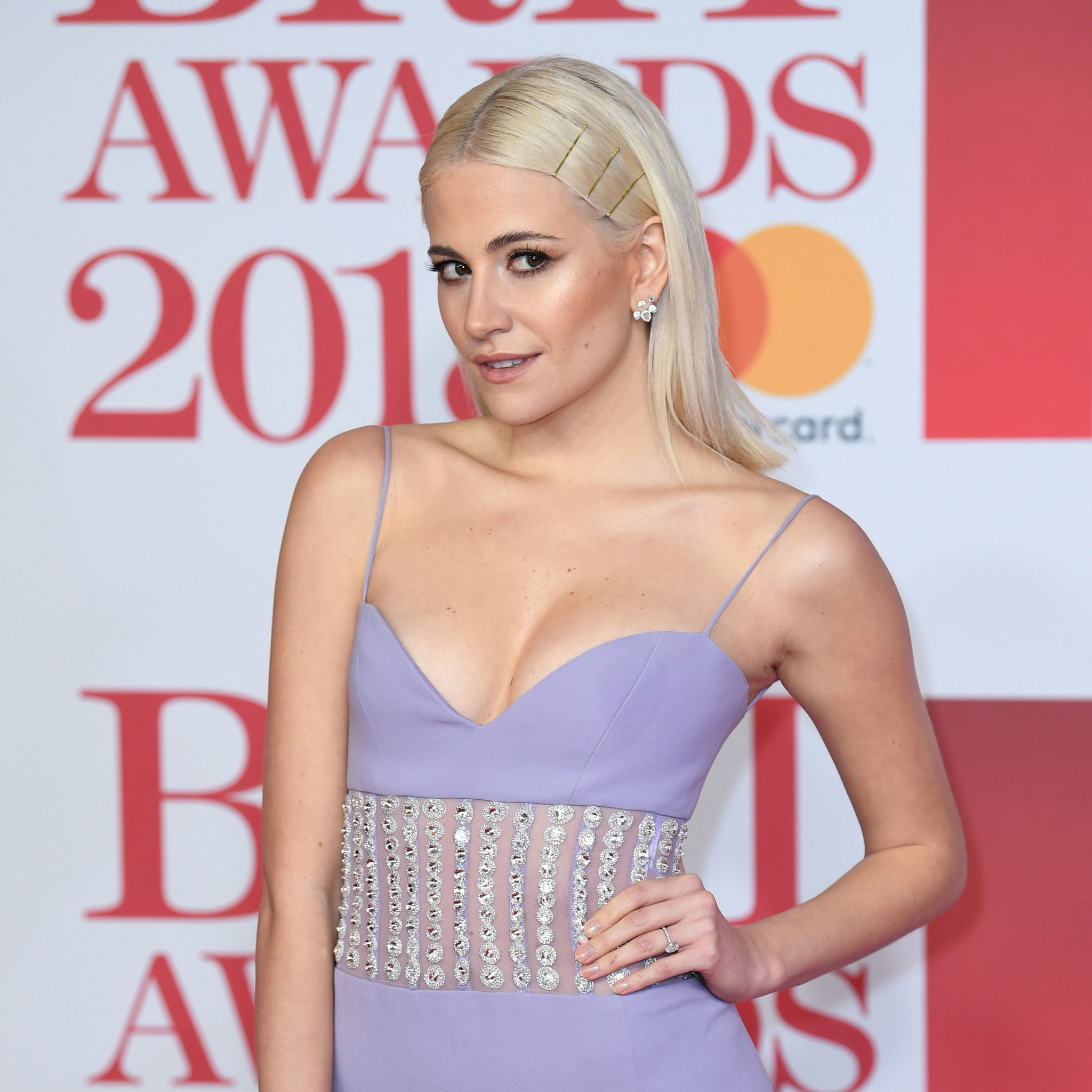 Pixie Lott en los Brit Awards 2018