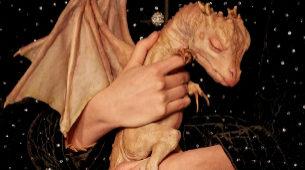 """""""La historia real de un autor que encontró una cría de dragón en su..."""