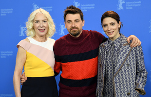 Susi Sánchez, Ramón Salazar y Bárbara Lennie en la Berlinale.