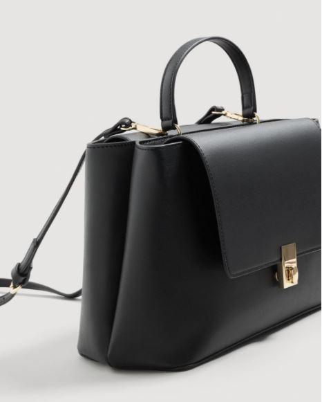 Bolso negro de MANGO (29,99 euros)